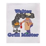 Grill Master Walter Throw Blanket