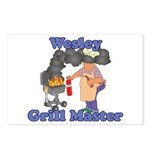 Grill Master Wesley Postcards (Package of 8)