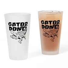 Gator Done! Drinking Glass