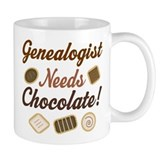 Genealogist Chocolate Gift Mug