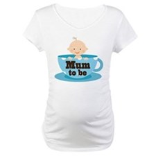 Mum To Be Baby in Tea Cup Shirt