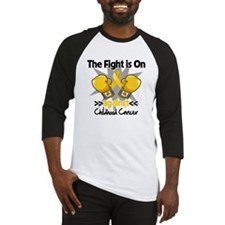 Fight On Childhood Cancer Baseball Jersey