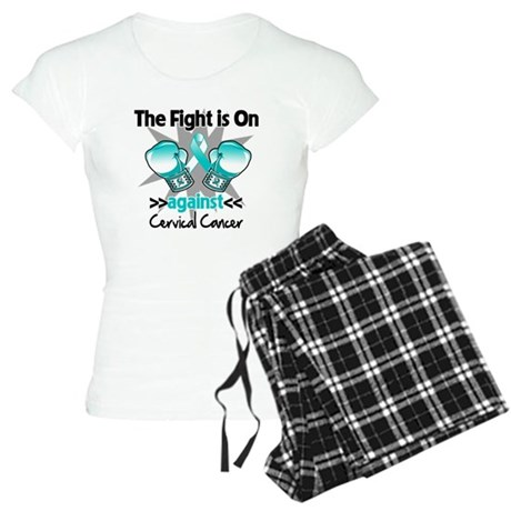 Fight On Cervical Cancer Women's Light Pajamas
