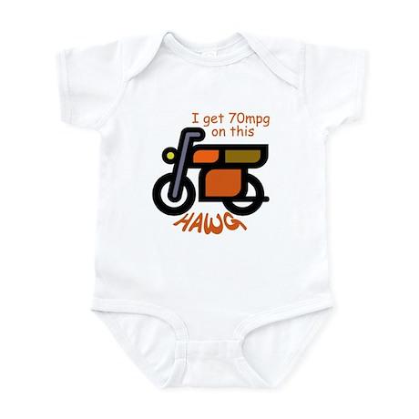 Dumb Dumber Hawg Infant Bodysuit