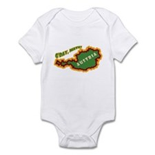 Dumb Dumber Austria Infant Bodysuit