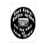 Bert Grimm Tattoo Artist Mini Poster Print