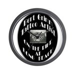 Bert Grimm Tattoo Artist Wall Clock