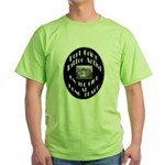 Bert Grimm Tattoo Artist Green T-Shirt