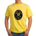 Bert Grimm Tattoo Artist Yellow T-Shirt