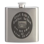 Bert Grimm Tattoo Artist Flask