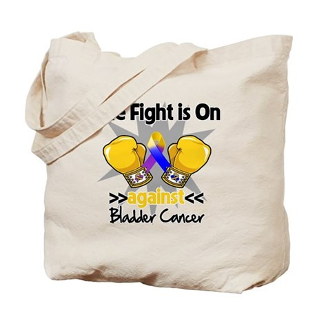 Fight is On Bladder Cancer Tote Bag