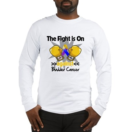Fight is On Bladder Cancer Long Sleeve T-Shirt