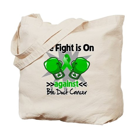 Fight is On Bile Duct Cancer Tote Bag