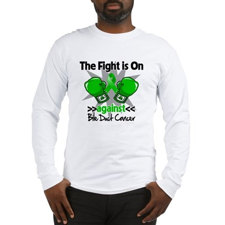 Fight is On Bile Duct Cancer Long Sleeve T-Shirt