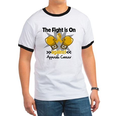Fight is On Appendix Cancer Ringer T