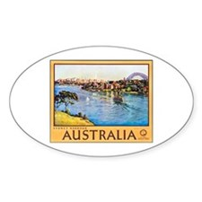 Australia Travel Poster 10 Decal
