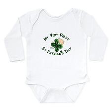Funny Irish baby Long Sleeve Infant Bodysuit