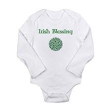 Cute Irish baby Long Sleeve Infant Bodysuit