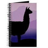 alpaca purple mountains Journal