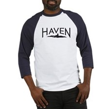 Haven Logo - Blue Baseball Jersey