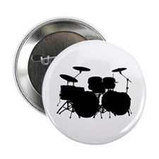 "Drums 2.25"" Button (10 pack)"