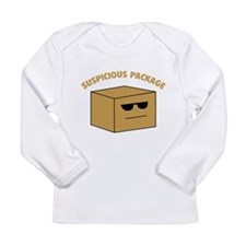 Suspicous Package Long Sleeve Infant T-Shirt