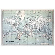 Map2 Darwin's Beagle Voyage South America