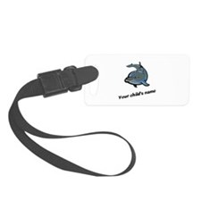 Dolphin Personalized Luggage Tag