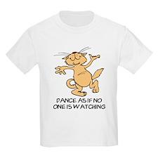 Dancing Cat Kids T-Shirt