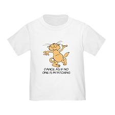 Dancing Cat Toddler T-Shirt