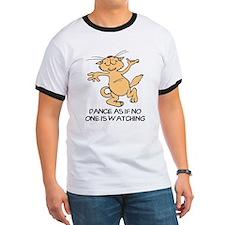 Dancing Cat Ringer T