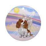 CLouds-Cavalier Angel (blen) Ornament (Round)