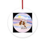 CLouds-Cavalier Angel (blen) Ornament (Round)