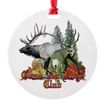Good old boys club Round Ornament