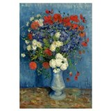 Still Life: Vase with Cornflowers and Poppies, 188
