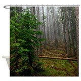 Pine forests 2 Shower Curtain