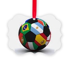 world cup soccer ball Ornament