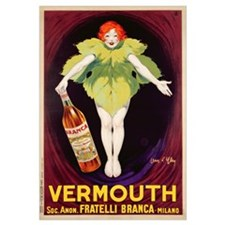 Poster advertising 'Fratelli Branca' vermouth, 192