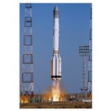 Launch of Proton-K rocket