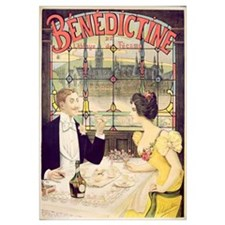 Advertisement for Benedictine, printed by Imp. And