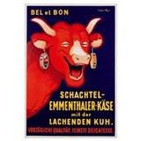 'Bel et Bon: Schachtel- poster advertising cheese,