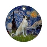 Starry Night-Anatolian Shep Ornament (Round)