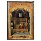 St. Jerome in his study, c.1475 (oil on panel) (se
