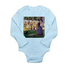 Georges Seurat La Grande Jatte Long Sleeve Infant