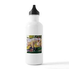 Georges Seurat La Grande Jatte Water Bottle