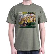 Georges Seurat La Grande Jatte T-Shirt