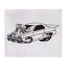 Muscle Car Throw Blanket