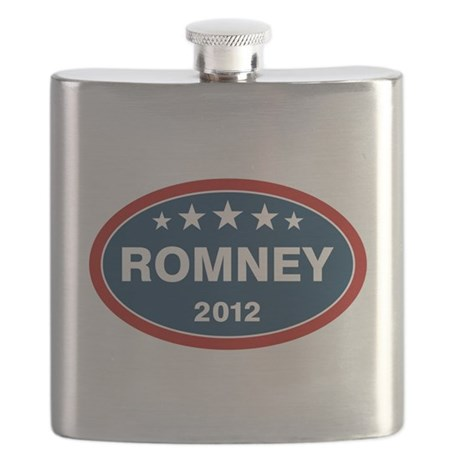 Romney 2012 [blue] Flask