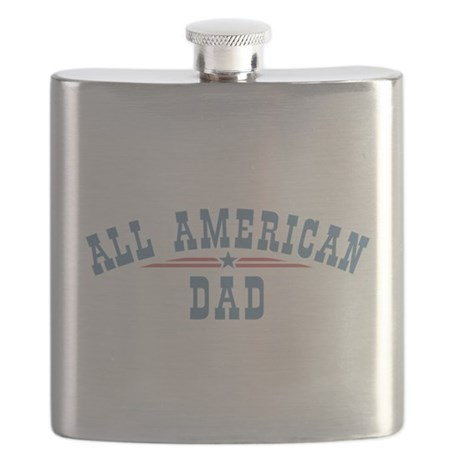 All American Dad Flask