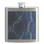 Cyan Lightning Look Flask